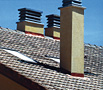 Ceramics and roof installation